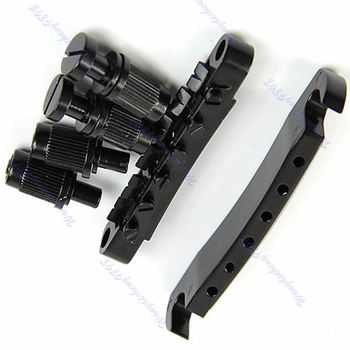 Guitar Parts Tune-O-matic Bridge Tailpiece Tail For Les Paul LP Style Set Black o steinwender prelude for solo guitar