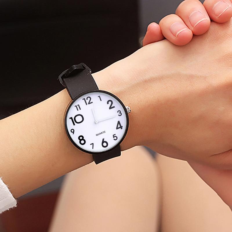 2018 silikon Armbanduhr Frauen Uhren Damen Mädchen Neue Mode Quarz Armbanduhren Für Frau Uhr Weibliche Stunden Montre Femme