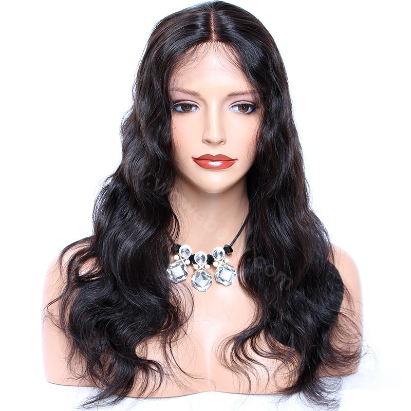 360 Lace Frontal Wig Pre Plucked With Baby Hair Brazilian Body Wave Human Hair Wigs Remy Hair Lace Front Wigs(China)