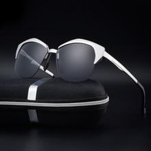 New aluminium magnesium alloy polarized sunglasses sunglasses fashion men's goggles glasses