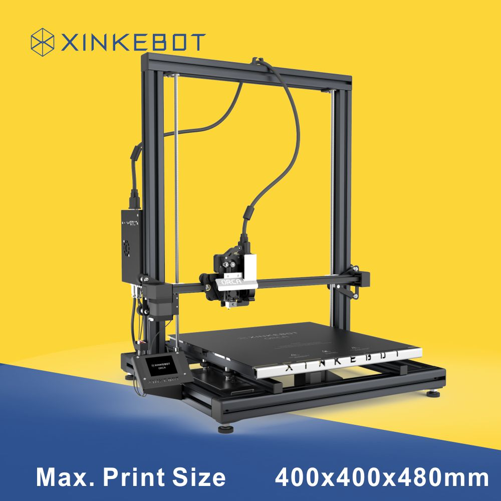 Large 3D Printer Build Area 400 400 480mm High Accuracy Printing Xinkebot ORCA2 Cygnus 3D Printer