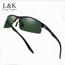 Brand Polarized Night Vision Sunglasses Sport UV Protection Mirror Sun Glasses C