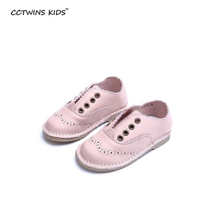 CCTWINS ДЕТИ 2017 весной девочка черный бездельник для детей мода танцевальная обувь малыша бренд партии плоский розовый скольжения на Акцентом