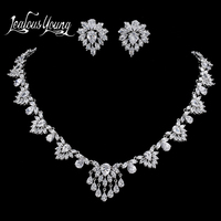 2017 Luxury Vintage Flower Zircon African Beads Jewelry Set For Wedding Ethic Nigerian Beads Necklace Jewelry Sets AS049