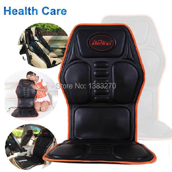 2019 Noir Shiatsu voiture coussin de massage avec chauffage et pétrissage coussin de massage de voiture