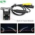 Auto Parking Assistance 6 Lens 170 Degree HD CCD Intelligent Reversing Trajectory Tracks Rear View Camera Reverse Backup Camera