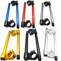 43MM Universal Motorcycle Clip On Ons Handlebar Fork 7/8