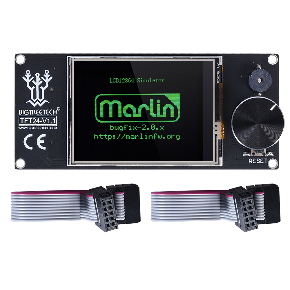 BIGTREETECH TFT24 V1.1 сенсорный экран контроллер дисплей аналогичный 12864 ЖК 3d принтер части для Ender 3 SKR V1.3 PRO VS MKS TFT24