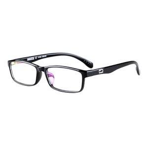 Image 5 - Toptical Ultra light TR90 Glasses Full Frame Square Eyeglasses Myopia Plain Eyewear Male Women Brand Design