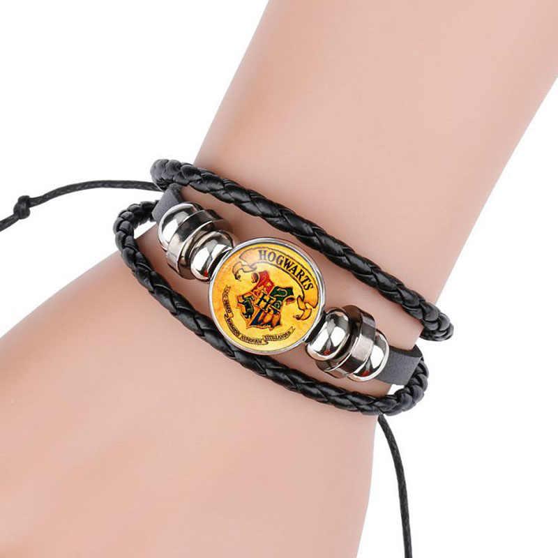 Harri Potter Magic Spell Time драгоценный камень значок Плетение Бисером кожа фигурка браслет игрушка для костюмированного представления подарок для детей