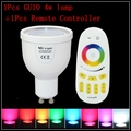 AC85-265V 4W Milight GU10 RGBW/WW LED Lamp Dimmable LED Light + 2.4G Wireless Touch RF Remote Controller indoor mi.light Light