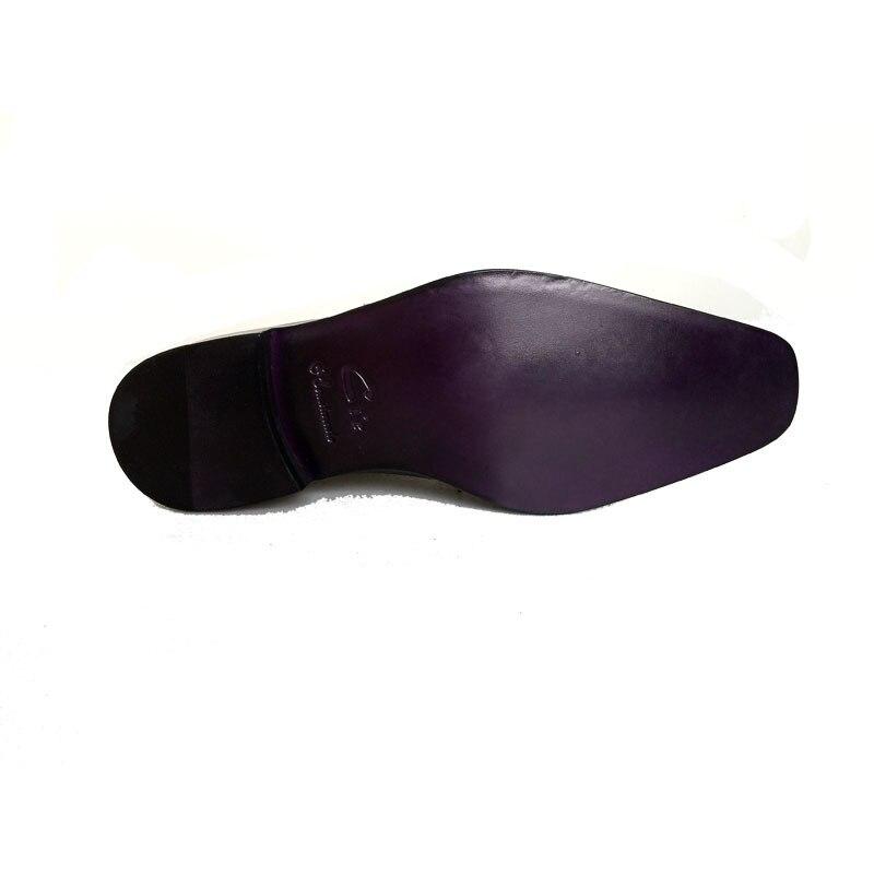 CIE полные броги дерби шнуровка ручной работы из натуральной телячьей кожи мужские платья/классический цвет темно-зеленый Дерби обувь № D63