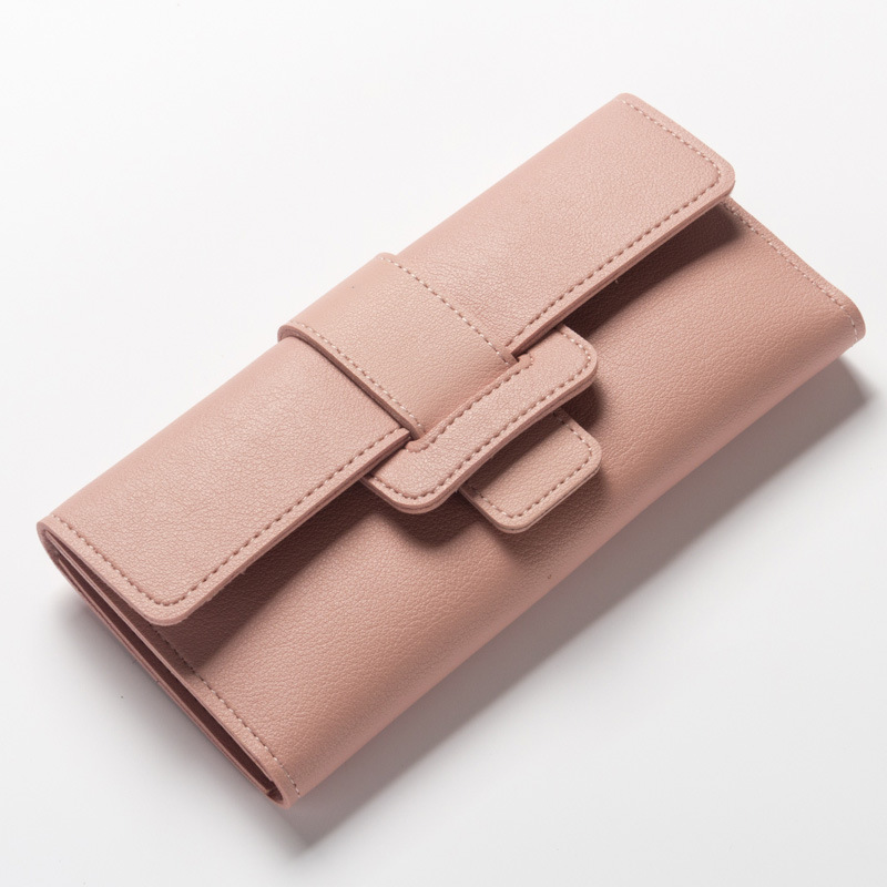Fashion Women Wallet Candy Sweet Color Hasp Magic W