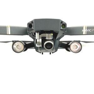 Image 1 - Mavic Pro Flaş LED Gece Dolgu Işığı Projektör lamba kiti için DJI Mavic Pro rc dört pervaneli helikopter Ile 4 K HD Kamera Drone aksesuarları