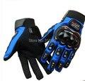 Guantes de moto guantes de moto guantes de moto de carreras de motos motocicleta dedo completo equipo de protección luvas 3 colores ml xl xxl