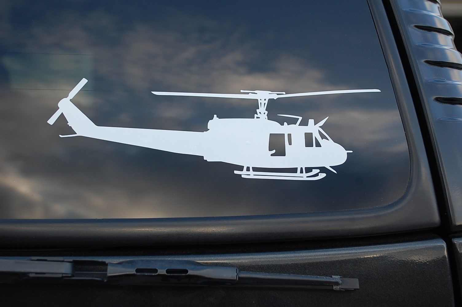 25cm Helicóptero Hughes 300 Adesivos De Vinil Eurocopter decalques Carro Auto Laptop