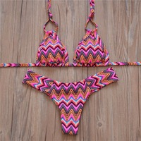 Hot Swimwear Bandage Bikini 2016 Sexy Beach Swimwear Women Swimsuit Bathing Suit Brazilian Bikini Set Biquini