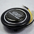 Carbon Fibre MUGEN POWER Steering Wheel Horns Button for Honda  SI Element ACURA INTEGRA S2000 PRELUDE CRV