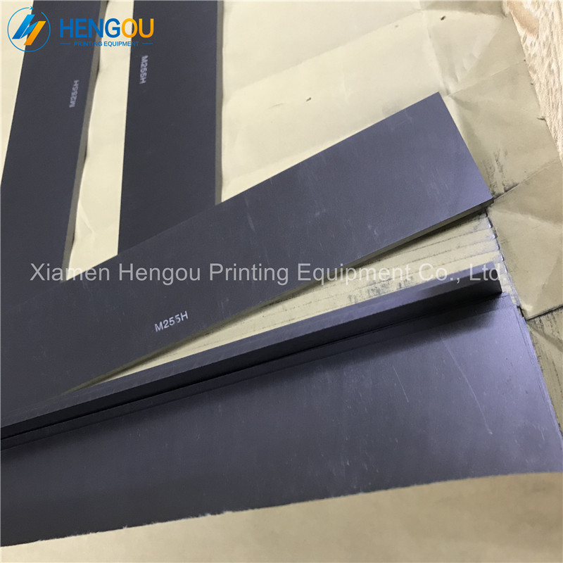 10 pieces free shipping M255H Graphite rotor size 240 45 4mm carbon vane for offset printing