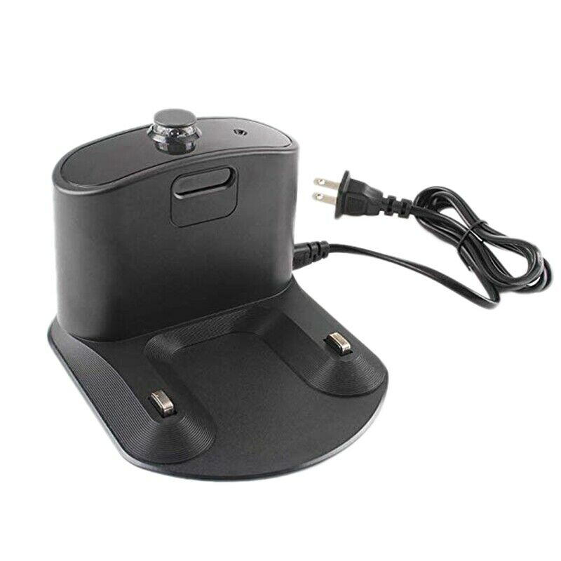 Dock Charging Base Station Attachment For iRobot Roomba Black Spare Accessories Replacement Household Cleaning