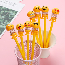 4 Pcs/Set gel pen cute lapices tinta caneta kawaii lapices tinta  material escolar trousse scolaire stylo stationery papelaria 10 pcs set gel pen refill kawaii 0 5mm cute blue red black office lapices supplies papelaria stationery kalem material escolar