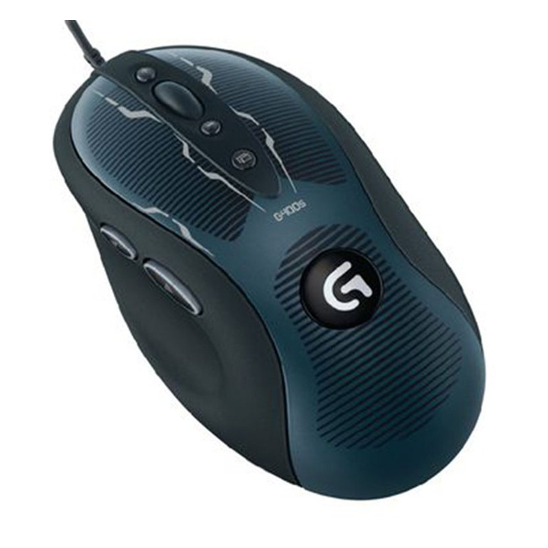 100% Original and New Logitech wired G400s Optical Gaming Mouse 4000dpi without retailed box