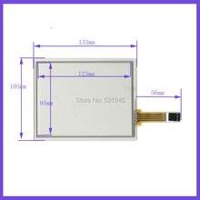 5.8 дюймов 4-проводной резистивный Сенсорный Экран 133*105 С СЕНСОРНЫМ ЭКРАНОМ 133 мм * 105 мм СТЕКЛО на ЖК-дисплее
