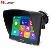 Junsun 7 Inch Car GPS Navigation Bluetooth 8GB With Rear View Camera FM MP3 MP4 256MB