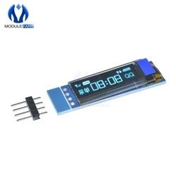 0,91 zoll 128x32 I2C IIC Serien Blau OLED LCD Display Modul 0,91 12832 SSD1306 LCD Bildschirm für arduino Hintergrundbeleuchtung