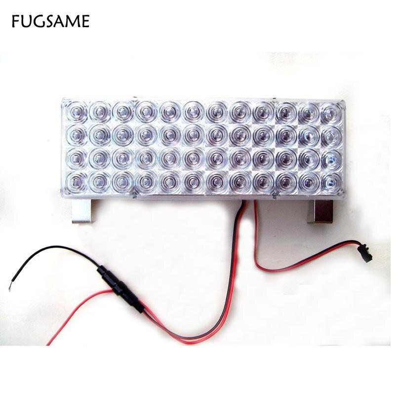 FUGSAME 6 * 48 288 LED Avtomobil Vasitə Avtomatik - Avtomobil işıqları - Fotoqrafiya 2