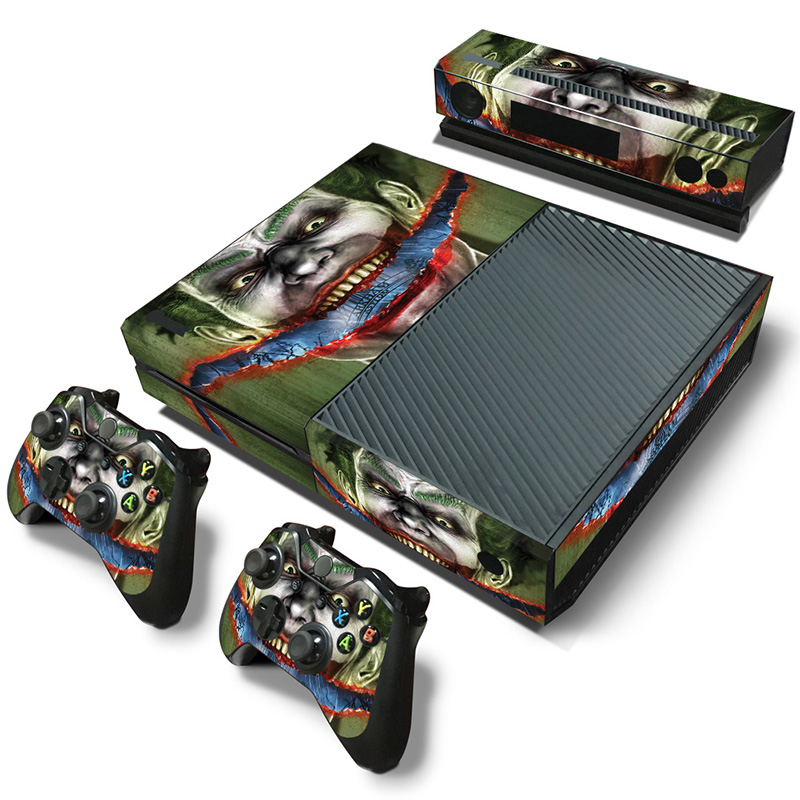 Design Protective Vinyl Decals for XBOX One Console Gaming Skin Stickers