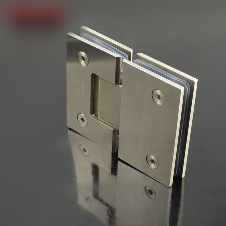 180 Degree Wall Mount Glass Hingeframeless Shower Door Hinges Kf434