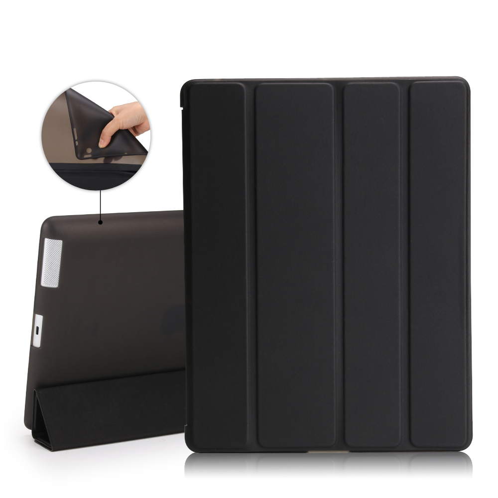 Case For Ipad 2 3 4 ,Auto Sleep /Wake Up Flip PU Leather Shockproof Cover For New Ipad 2/3/4 Smart Stand Holder Coque Case