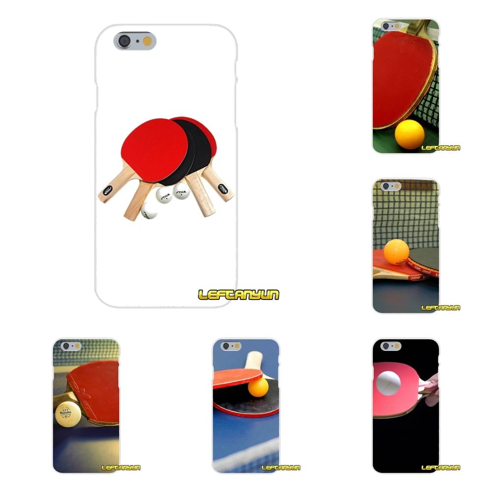 Bescheiden Pingpong Bal Sport Hoge Klassieke Voor Samsung Galaxy S3 S4 S5 Mini S6 S7 Rand S8 S9 Plus Note 2 3 4 5 8 Accessoires Skin Case Tegen Elke Prijs