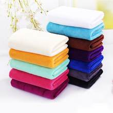 For Adult Thick Bathroom Super Soft Absorbent Quick-drying breathable Microfiber Thick Bath Towel Bath Robe Hair Towel 35cm*75cm(China)