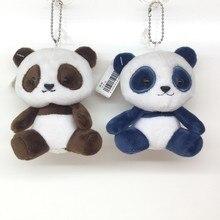 cheap for discount 60555 e94c0 Модные пышные плюшевая кукла панда игрушка-брелок Для женщин милые pom  медведь брелок помпоном сумка