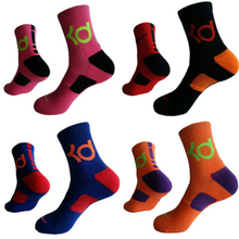 New Professional KO Basketball Socks Men Thicken Towel Outdoor Breathable Wicking Cycling Sport Cotton Running