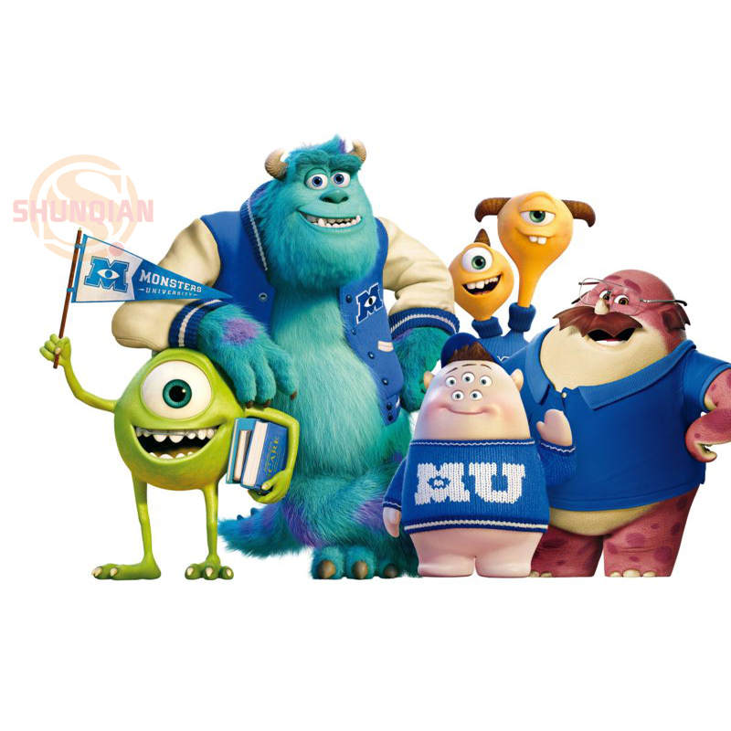 new monsters university poster custom satin poster print cloth