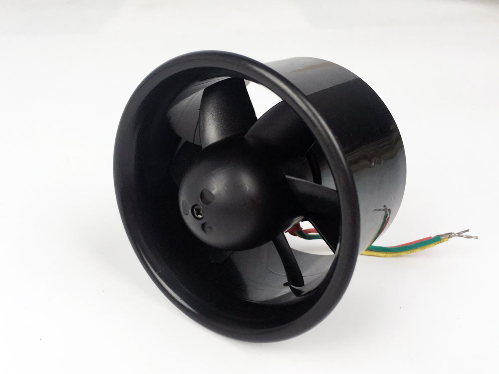 Clearance Product AEORC 55mm 64mm 6 Blades Ducted Fan System EDF for Jet Plane with Brushless Motor RC Plane EDF RC