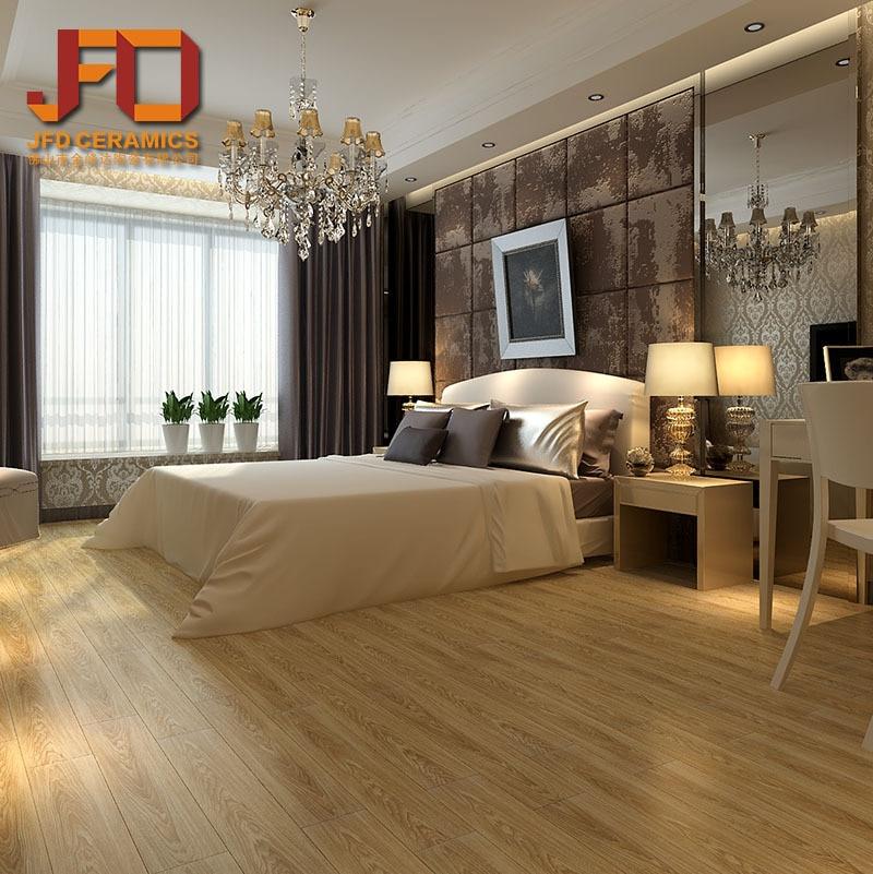 foshan azulejo de piso de madera de imitacin de alta calidad dormitorio