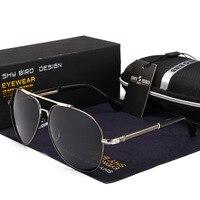Classic Polarized Sunglasses Men Women Retro Brand Designer High Quality Sun Glasses Female Male Fashion Mirror Sunglass