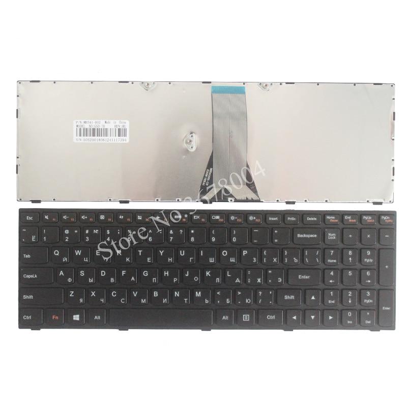 Bilgisayar ve Ofis'ten Yedek Klavyeler'de Rus Laptop Klavye için Lenovo G50 Z50 B50 30 G50 70A G50 70H G50 30 G50 45 G50 70 G50 70m Z70 80 Siyah RU title=