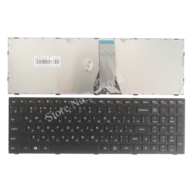 Русская клавиатура для ноутбука Lenovo G50 Z50 B50-30 G50-70A G50-70H G50-30 G50-45 G50-70 G50-70m Z70-80 черный RU