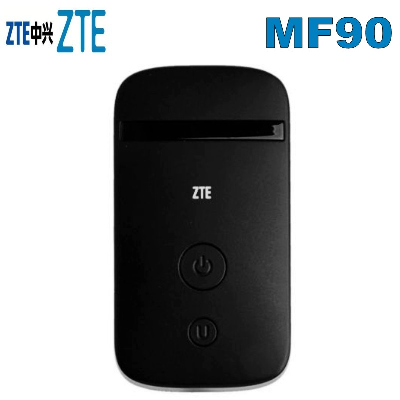 <font><b>Unlocked</b></font> <font><b>ZTE</b></font> <font><b>MF90</b></font> 3G <font><b>4G</b></font> <font><b>LTE</b></font> FDD 800/1800/2600 MHz WIFI Hotspot Wireless <font><b>Router</b></font> image