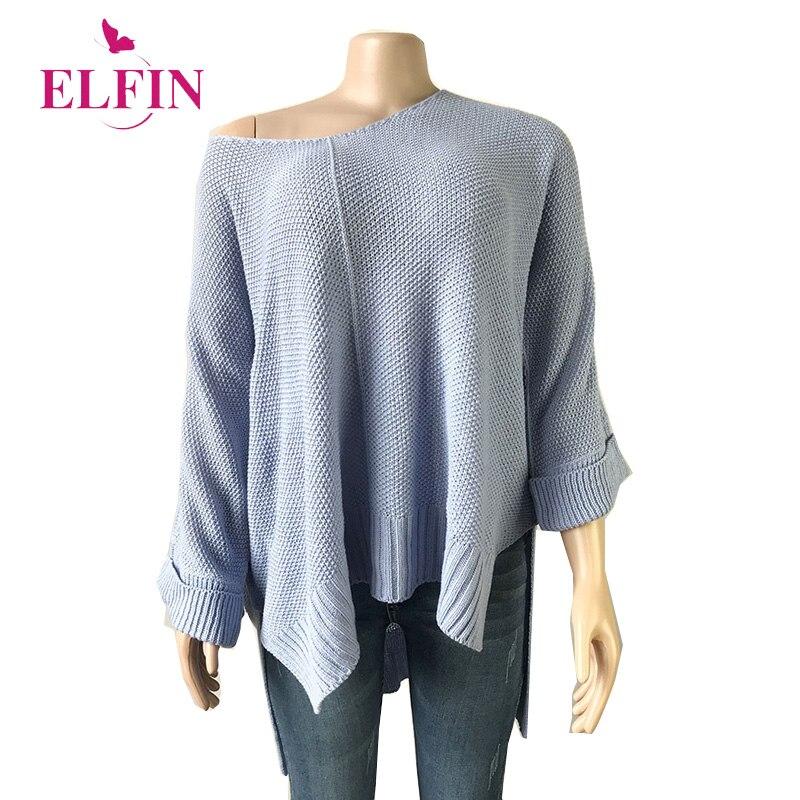 Fall 2019 Sweater Women Long Sleeve Streetwear Solid Casual Ladies Top Autumn Pull Femme Pullover Minimalist Winter SJ3576R