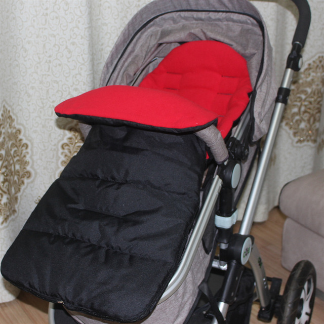 Get 1 usd coupon buy 10-1 Warm babyfond Multifunctional universal foot cover baby car pusher sleeping bag big stroller leg cover