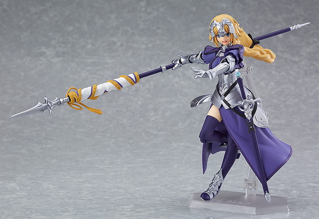 Anime Fate Grand Order Jeanne d'Arc Ruler Figma 366 PVC Action Figure Collection Model Kids Toys Doll 5.5 5