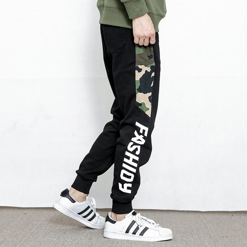 High Quality Joggers Pants Men Bodybuilding Gyms Sweatpants pantalon homme Brand Mens Clothing 2018 Autumn Sweat Trousers