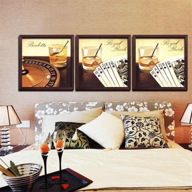 Aliexpress.Com : Buy Modern Las Vegas Gambling House Art Wall