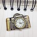 SmileOMG  Unisex Antique Bronze Camera Design Pendant Pocket Watch Necklace Gift ,Aug 18